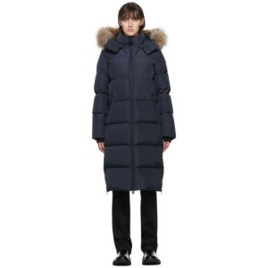 Mackage Navy Down Wynter Coat