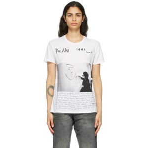R13 White Anton Corbijn Edition U2 Miami Boy T-Shirt
