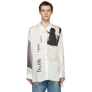 R13 Off-White Anton Corbijn Edition U2 Miami Drop Neck Shirt