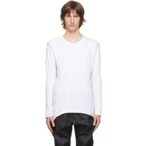 Sulvam White Darts Long Sleeve T-Shirt