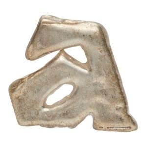 ADER error Silver Aspect Single Earring