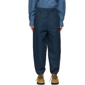 House of the Very Islands Blue PAK Loose Trousers