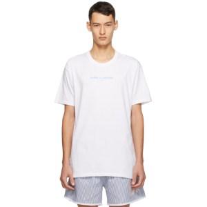 Daniel W. Fletcher White Logo T-Shirt