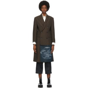 Namacheko Brown Hannagan Warp Coat