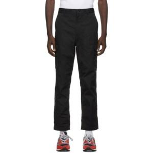 Comme des Garcons Homme Black Cargo Trousers