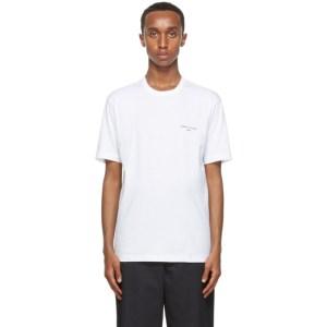Comme des Garcons Homme White Logo T-Shirt