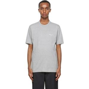 Comme des Garcons Homme Grey Logo T-Shirt