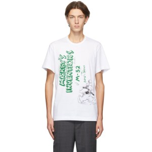 Comme des Garcons Homme Deux White Mickeys Inventions T-Shirt