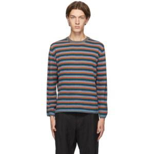 Comme des Garcons Homme Deux Multicolor Striped Sweater