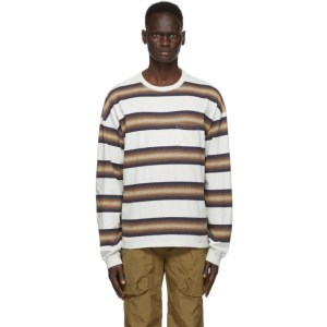 Remi Relief Off-White Striped T-Shirt