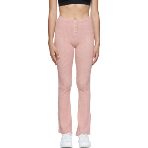 Live the Process Pink Flare Marl Lounge Pants