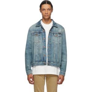Nudie Jeans Blue Denim Jerry Pacific Jacket