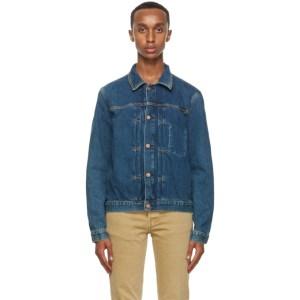 Nudie Jeans Blue Someplace Vinny Denim Jacket