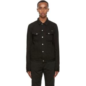 Nudie Jeans Black Billy Denim Jacket