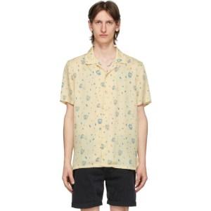 Nudie Jeans Beige Misfit Creatures Arvid Shirt