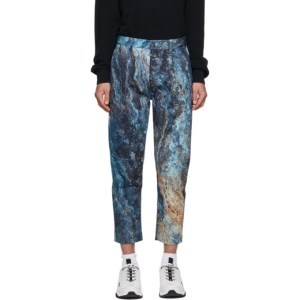 Hugo Blue Marble Trousers