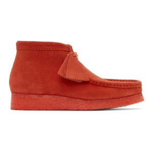 Clarks Originals Red Wallabee Desert Boots
