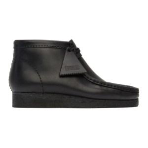 Clarks Originals Black Wallabee Desert Boots
