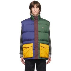 Levis Multicolor Down Stay Loose Fillmore Vest