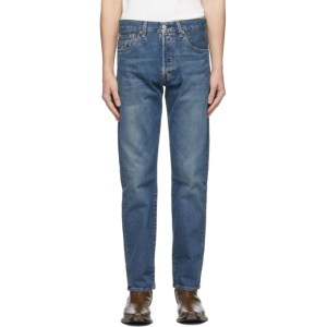 Levis Blue 501 93 Straight Jeans