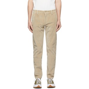 Levis Beige Corduroy XX Chino Trousers