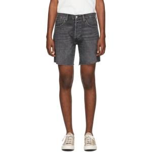 Levis Black 501 93 Cut-Off Shorts