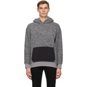 Levis Grey Sherpa Pocket Hoodie