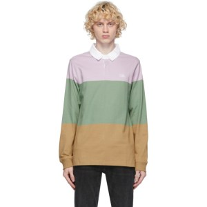 Levis Multicolor Rugby Long Sleeve Polo