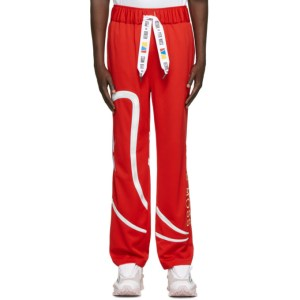Reebok by Pyer Moss Red Vintage Lounge Pants
