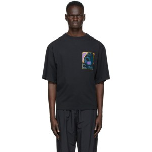 Reebok by Pyer Moss Black Graphic T-Shirt