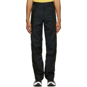 Affix Black Duo-Tone Work Trousers