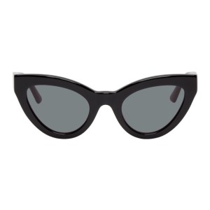 McQ Alexander McQueen Black McQ Swallow Cult Cat-Eye Sunglasses