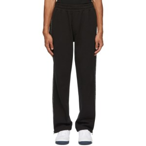 McQ Alexander McQueen Black McQ Swallow Zip Sweatpants