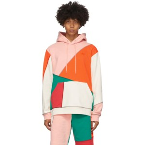 McQ Alexander McQueen Multicolor McQ Swallow Patchwork Hoodie