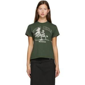 Reese Cooper SSENSE Exclusive Green Wind Chill T-Shirt
