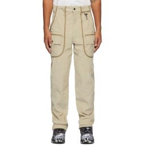 Reese Cooper Beige Corduroy Trousers