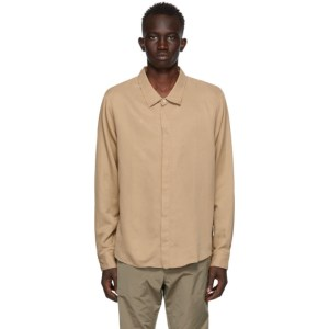 Tiger of Sweden SSENSE Exclusive Tan Atteneo Shirt
