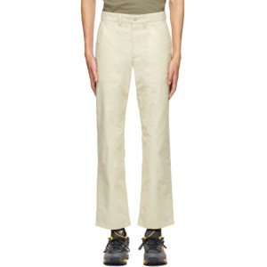 Norse Projects Beige Aaro 60/40 Fatigue Trousers