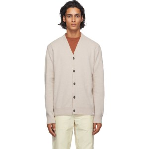 Norse Projects Beige Wool Adam Cardigan