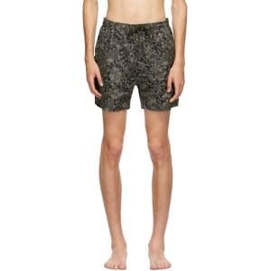 Norse Projects Khaki Hauge Swim Shorts