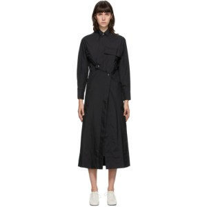 Markoo SSENSE Exclusive Black Snap Front Dress