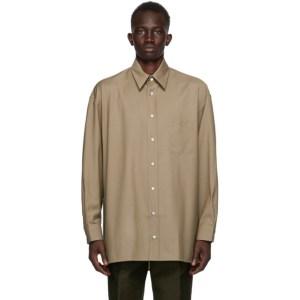 UNIFORME Khaki Cool Wool Shirt