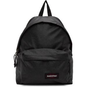 Eastpak Grey Glitter Padded Pakr Backpack