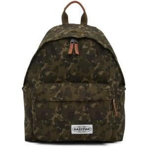 Eastpak Khaki Camo Padded Pakr Backpack