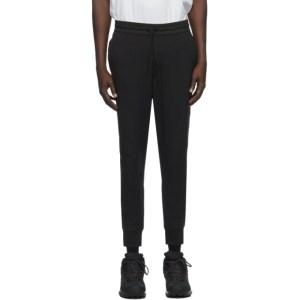 Y-3 Black Nylon Cuff Lounge Pants