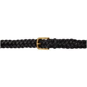 Maximum Henry Black and Gold Braided Standard Belt