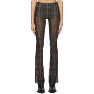 Charlotte Knowles Brown Paisley Halcyon Trousers