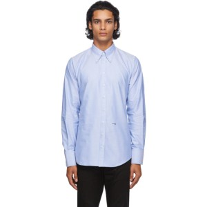 Dsquared2 Blue Oxford 70s Shirt