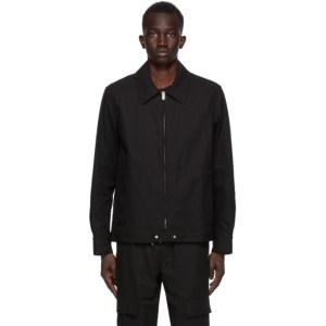 Helmut Lang Black Twill Jacket