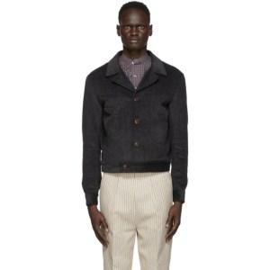 Martin Asbjorn Grey Corduroy Dawn Shirt Jacket